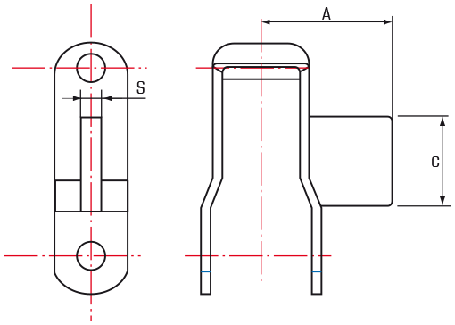 Steel Pintle Chains with AN attachments