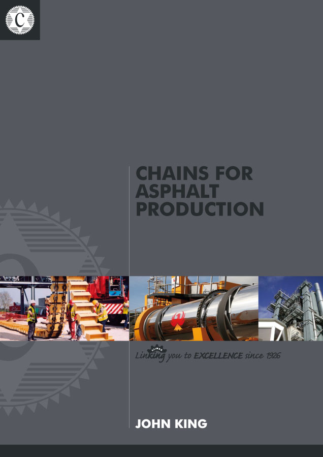 Catalogue Chains for Asphalt Production