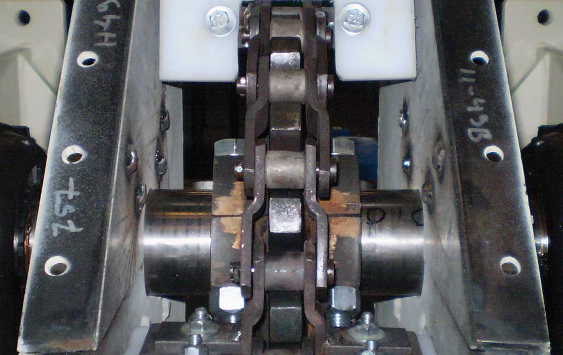 Offset Sidebar Heavy Duty Bush Chains