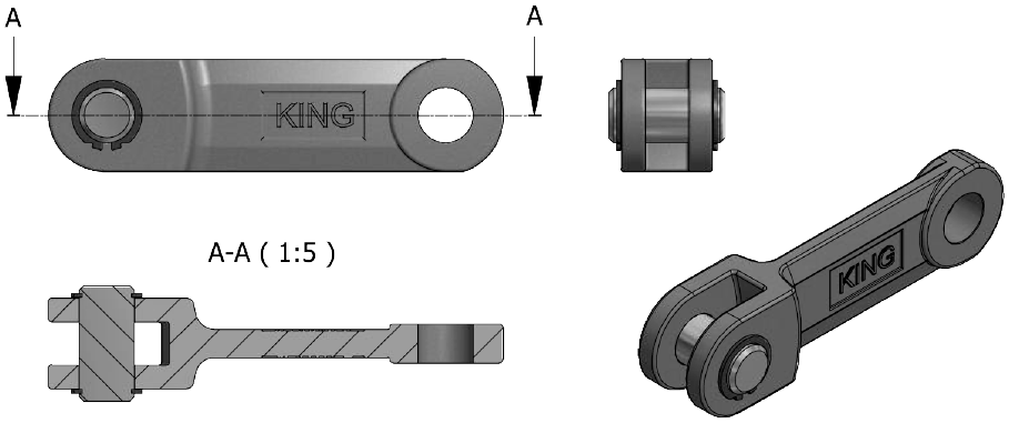 Type 22 – Standard double circlip
