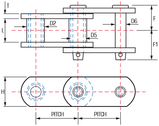 Tram Chain - style A