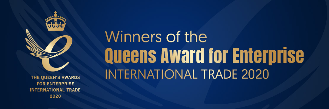 Winners of the Queens Award for Enterprise – International Trade 2020