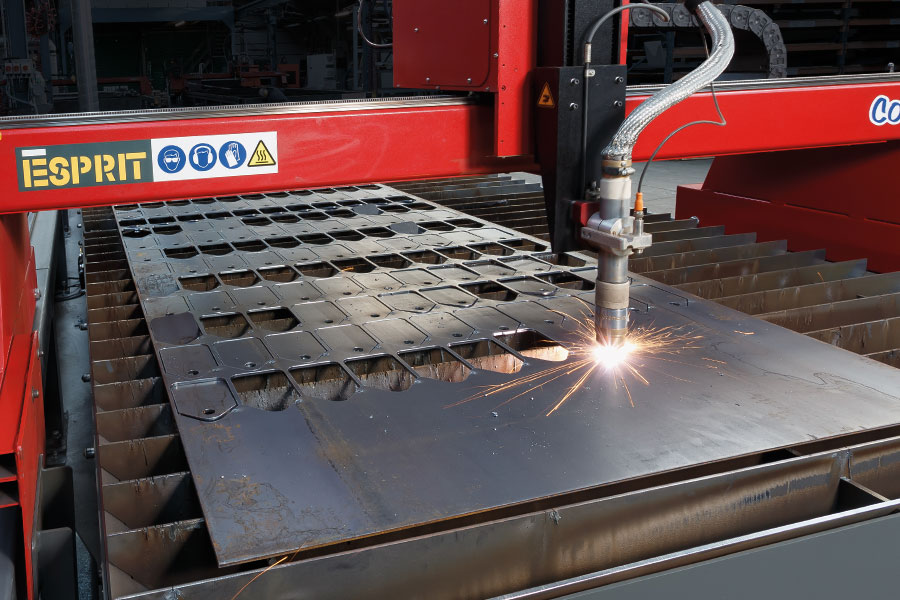 Plasma Cutting Machine & Capabilities